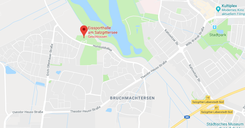 Eishalle Google Maps